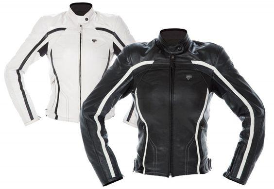 chaqueta de moto para mujer de cuero #laquiero