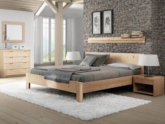 SAM® Holzbett 180 x 200 cm massive Kernbuche geteilt Campino 409 - möbel inhofer schlafzimmer