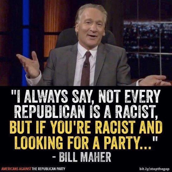 Republicans...The Racist Party. Period!