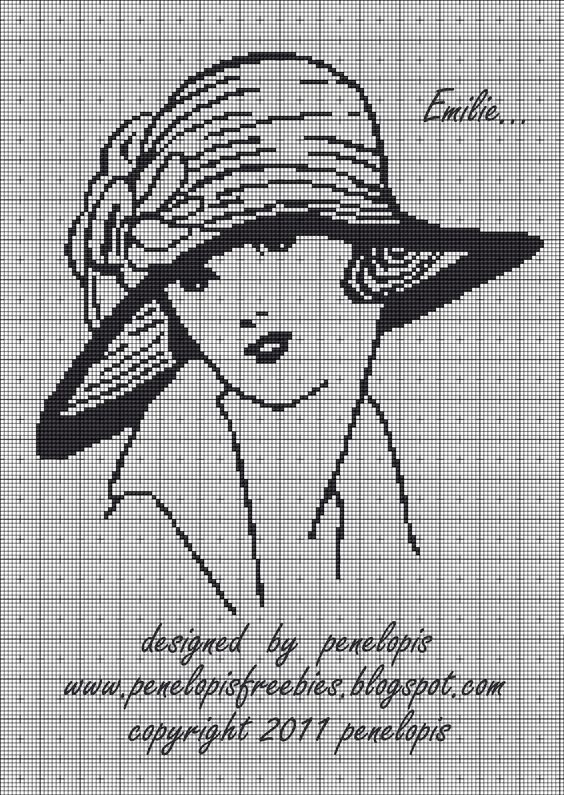 Point de croix*m@*Cross stitch: