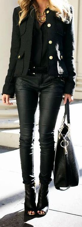 All Black Outfit: