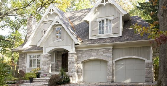 Portfolio | New Homes | Mineola Cottage BEAUTIFUL Exterior Ideas/Colors/Texture