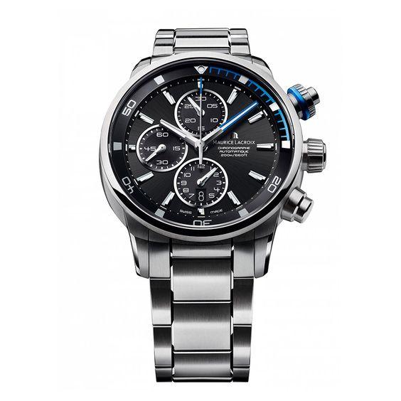 Reloj cronógrafo automático de caballero Maurice Lacroix.