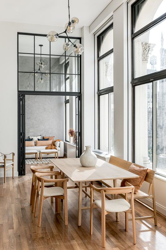 This Simple Modern Dining Room Has The Perfect Balance Of Form And