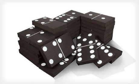 jumbo dominoes - I must have these.