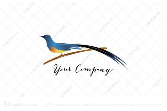 Murai Batu Logo Batu Logo Bird