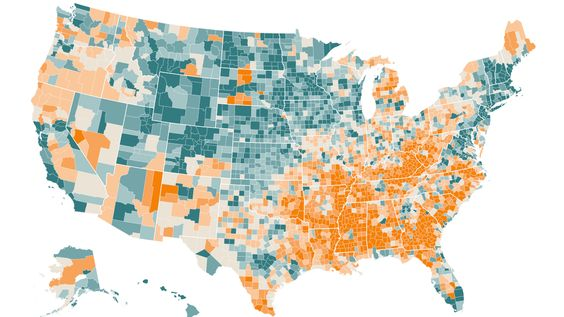 Where Are The Hardest Places To Live In The US Cost Of Living - Cost of living map us