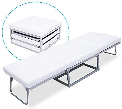 Best Seller Triple Ottoman Folding Bed Guest Bed Foam Mattress Suede Cover Denmark Design Online Findandbuytopstyle In 2020 Folding Beds Folding Guest Bed Foam Mattress Bed