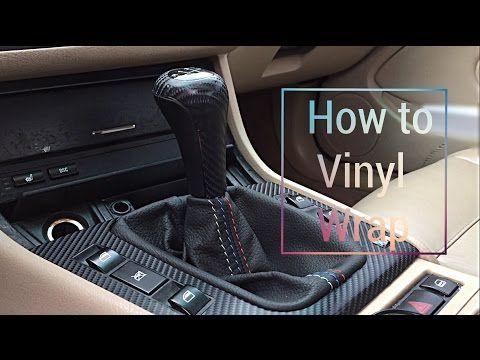 Audi A6 Folieren Mmi Bedienteil Mit Carbon Folie Youtube Bmw E46 Vinyl Wrap Bmw Interior