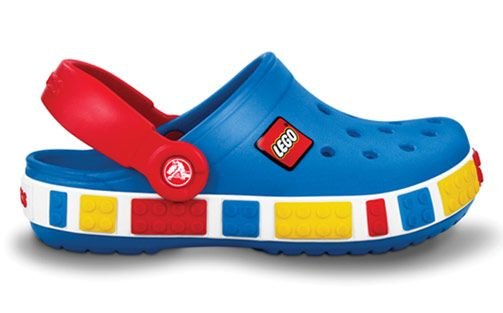 Coolest Croc Ever.  For L, since he has already worn through his crocs that he got for his birthday half a year ago! :P