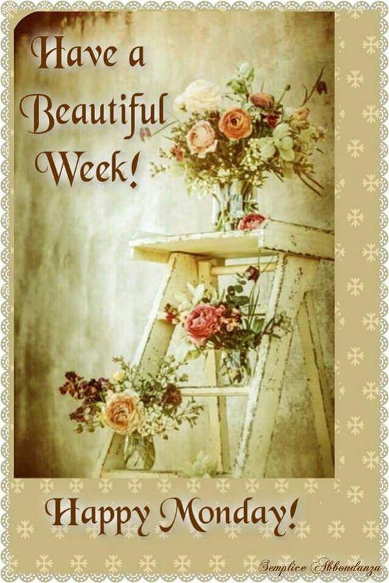 Monday New Week Greetings