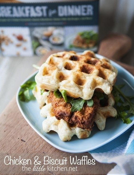 Chicken and Biscuit Waffles | 24 Very Important Next-Level Waffles