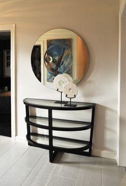 Modern Loft - Beckwith Interiors #beckwithinteriors #interiordesign #loft #mirror