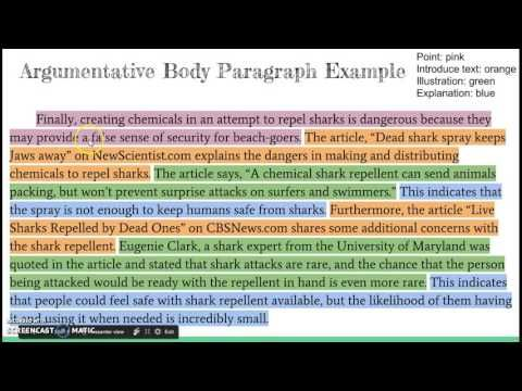 Body Paragraphs For An Argumentative Essay Youtube Body Paragraphs Argumentative Essay Writing A Persuasive Essay