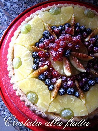 Crostata alla frutta - In Cucina con Me