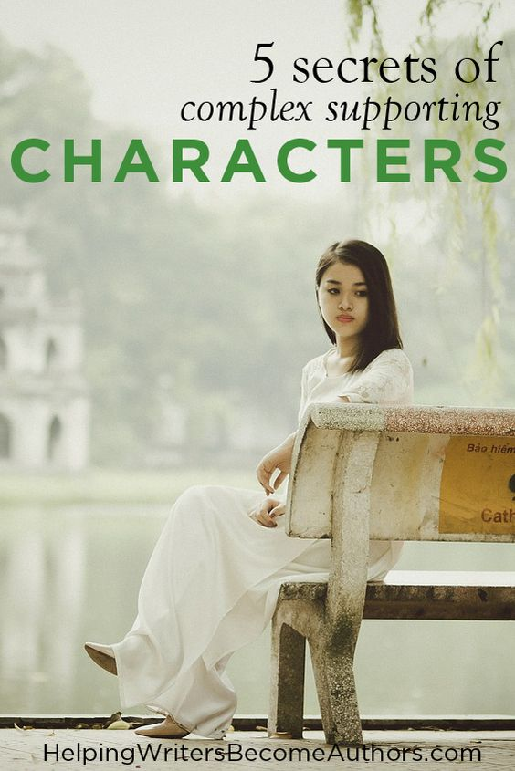All you need to create complex supporting characters are the answers to these five important questions about each of your minor characters.