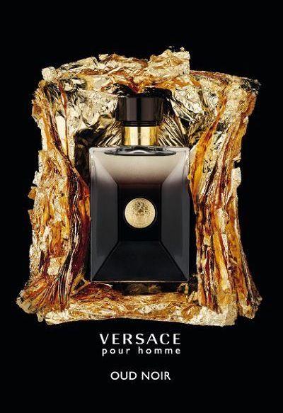 Versace Pour Homme Oud Noir Eau De Parfum Spray 3.4 oz