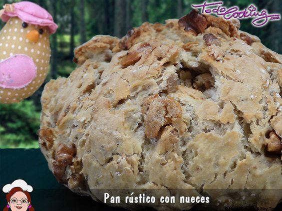 Pan Rústico de nueces