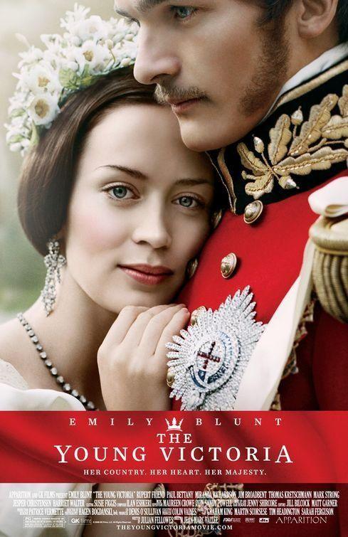 The Young Victoria, es una película basada en la vida de Victoria I del Reino Unido, a la que da vida Emily Blunt y el Príncipe Alberto (Albert) es interpretado por Rupert Friend. La ví en Netflix.
