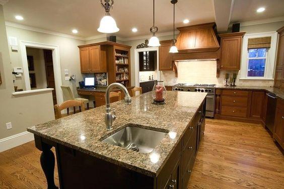 Inspiring Kitchen Island With Vegetable Sink Vibrantkitchen Prep Ideas Size Outdoor Kitchen Countertops Granite Countertops Kitchen Marble Countertops Kitchen
