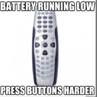 or throw it across the room!  Then get a new one.