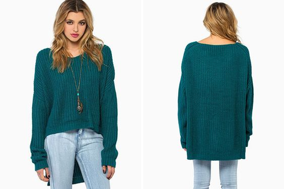 Take Sweater Weather by Storm With These 50 Knits via Brit + Co.