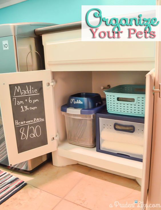 Organizing Pet Supplies Laundry Room Post 1 Vinyls