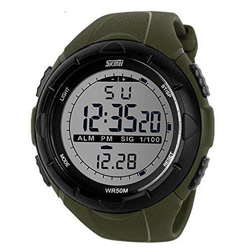 DAYAN Männer Military Style Digitale LCD-Anzeige wasserdicht sportliche Armbanduhr - http://kameras-kaufen.de/dayan/dayan-maenner-military-style-digitale-lcd