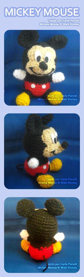 Mickey Mouse Amigurumi by kaniachocolate.deviantart.com on ...