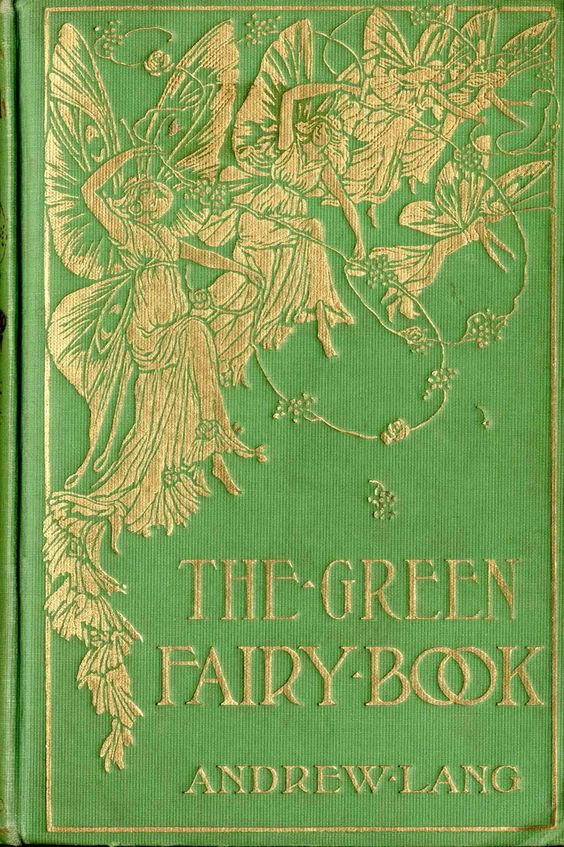 I poured over this book as a little girl.  The Green Fairy Book by Andrew Lang. Illustrated by H.J. Ford. New York: Hurst and co., 1892
