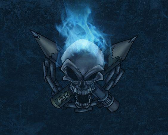 1080p skull wallpaper for home