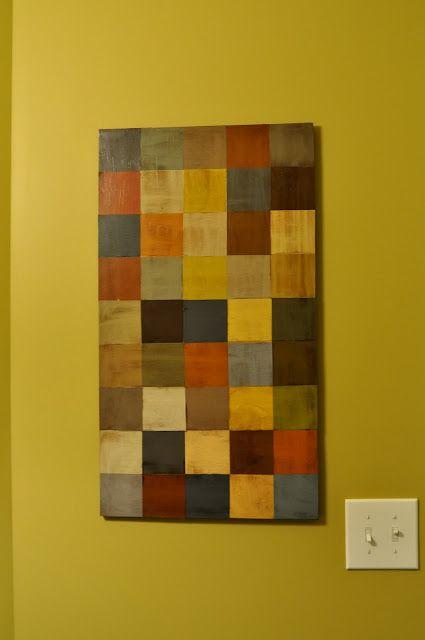 Paint Chip Wall Art: Paint Chips, Paint Sample, Diy Paint, Paint Chip Art, Paint Chip Wall, Chips Mod, Craft Ideas, Art Wall