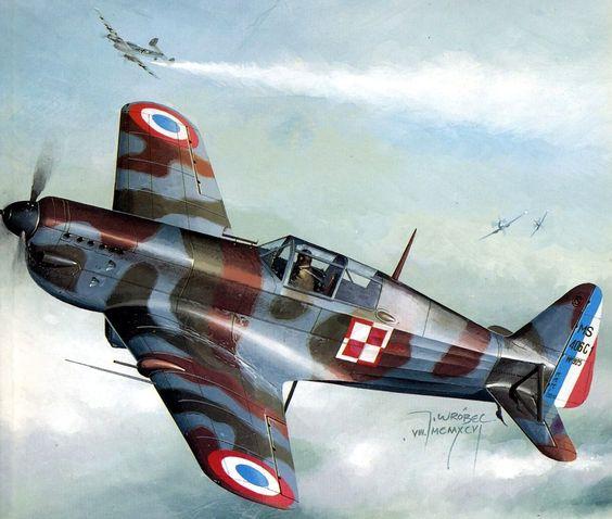 Morane Saulnier MS.406, No.925, GC III-6, Capitaine Mieczyslaw Sulerzycki, Arc-en-Senans- Jaroslaw Wróbel.