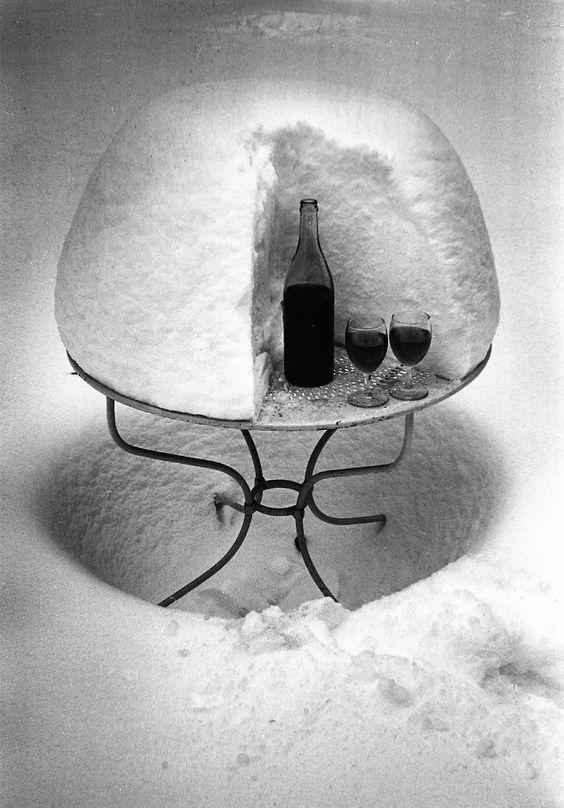 Atelier Robert Doisneau   Galeries virtuelles des photographies de Doisneau - Neige