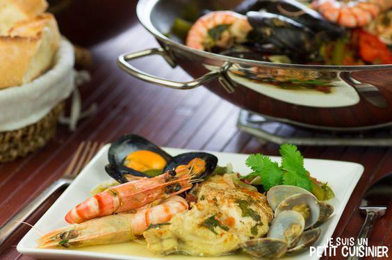 Recette de cataplana de poisson et fruits de mer cuisine for Cuisine portugaise