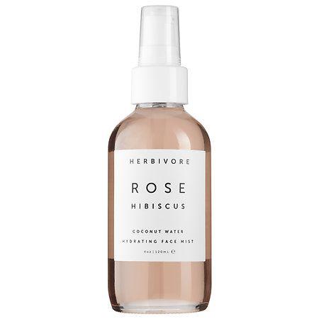 Rose Hibiscus Coconut Water Hydrating Face Mist - Herbivore | Sephora