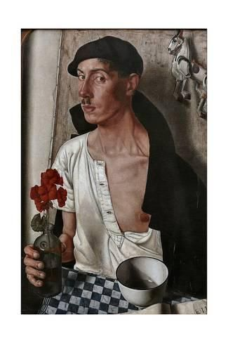 Giclee Print: Self-Portrait, 1932 by Dick Ket : 24x16in