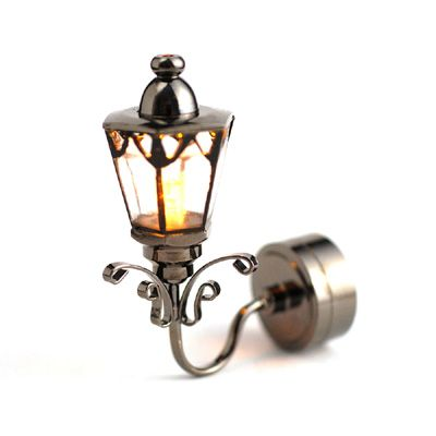Minimum World LT7505 Dolls House Light, Battery Coach Lamp