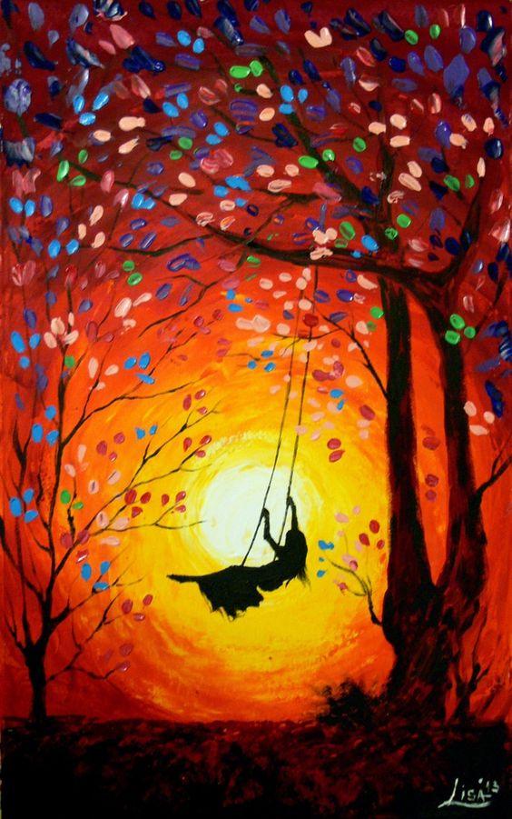 oil painting idea