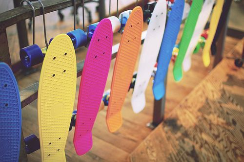 penny board | Tumblr need to learn how to ride one.