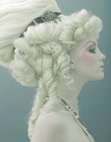Rococo hair