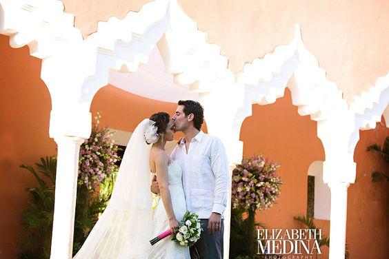 #mexico #yucatan #merida #hacienda #boda #arcos #novios