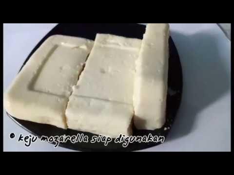 Bikin Keju Mozarella Sendiri Dirumah Gampang Bingit Youtube Keju Makanan Dan Minuman Makanan