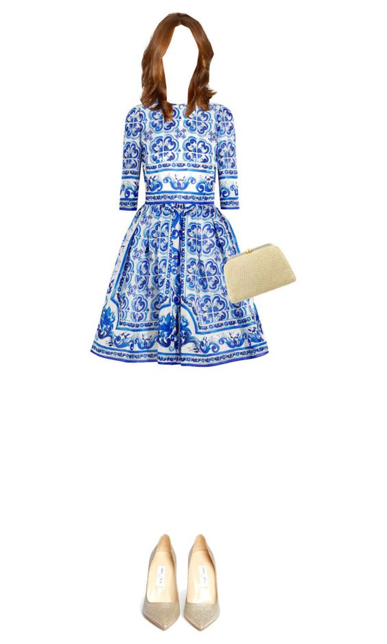 """""""Lady"""" by hajra-m ❤ liked on Polyvore featuring Dolce&Gabbana, Jimmy Choo and Judith Leiber"""