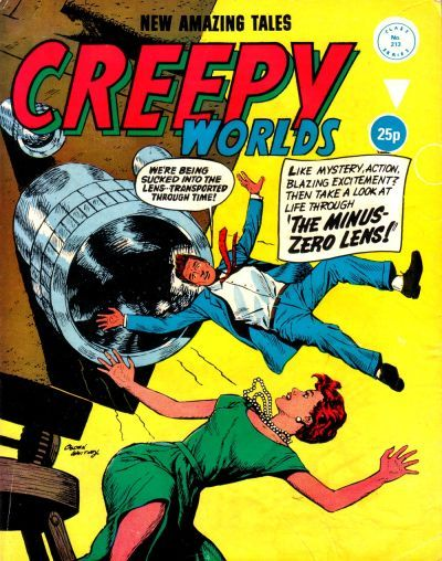 Cover for Creepy Worlds (Alan Class, 1962 series) #213