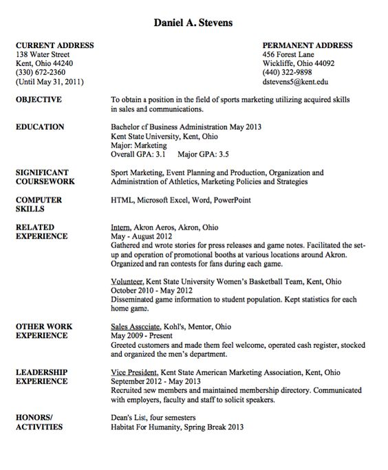Sample Resume Vice President -    resumesdesign sample - sample resume with gpa