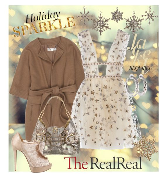 """""""Holiday Sparkle With The RealReal: Contest Entry"""" by joyfulnoise1052 on Polyvore featuring STELLA McCARTNEY, Jimmy Choo, Ippolita, Cultural Intrigue, Christian Louboutin and TheRealReal"""