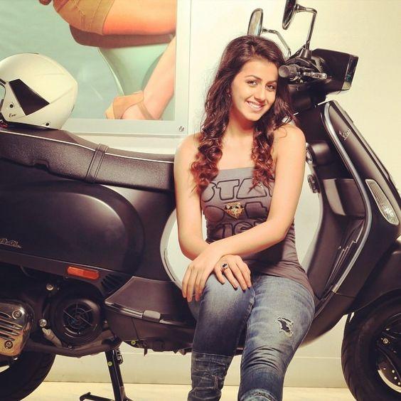 Actress Nikki Galrani
