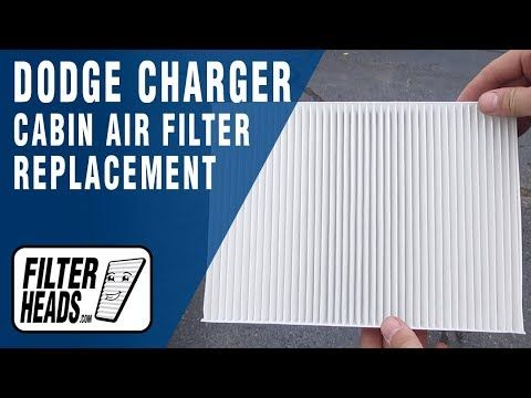 How To Replace Cabin Air Filter 2014 Dodge Charger Dodge Charger 2014 Dodge Charger Cabin Air Filter