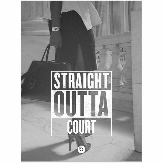 #lawyer (except those heels - no heels like that in court in the South!):